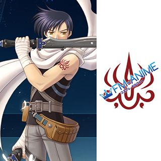 The Legend of Heroes: Trails in the Sky Joshua Bright Cosplay Tattoo Stickers