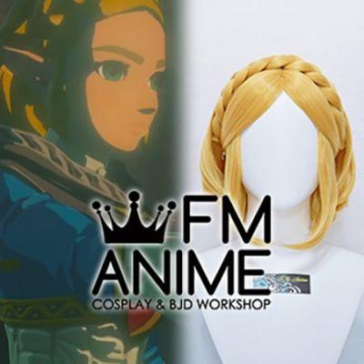 The Legend of Zelda: Breath of the Wild 2 Princess Zelda Cosplay Wig