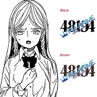 The Promised Neverland Anna 48194 Number Cosplay Tattoo Stickers