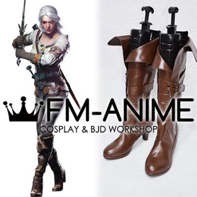 The Witcher 3: Wild Hunt Cirilla / Ciri Cosplay Shoes Boots