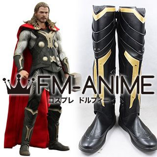 Thor 2 The Dark World (Marvel Film) Thor Cosplay Shoes Boots