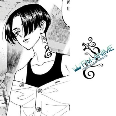 Tokyo Revengers Manjiro Sano Mikey Cosplay Temporary Tattoo Stickers