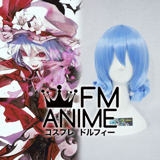 Touhou Project Remilia Scarlet Cosplay Wig #2