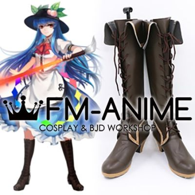 Touhou Project Tenshi Hinanawi Cosplay Shoes Boots