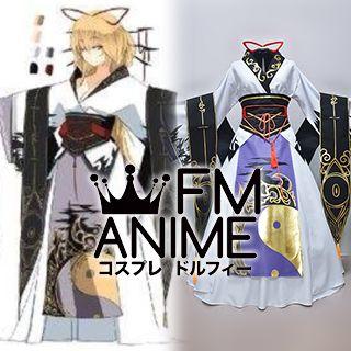 Touhou Project Yukari Yakumo Dojin Kimono Cosplay Costume