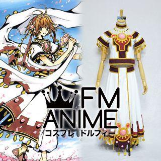 Tsubasa: Reservoir Chronicle Sakura the Kingdom of Clow Cosplay Costume