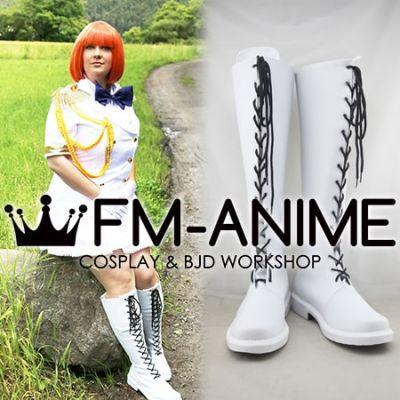 Uta no Prince-sama Maji Love 2000% Nanami Haruka Military Uniform Cosplay Shoes Boots
