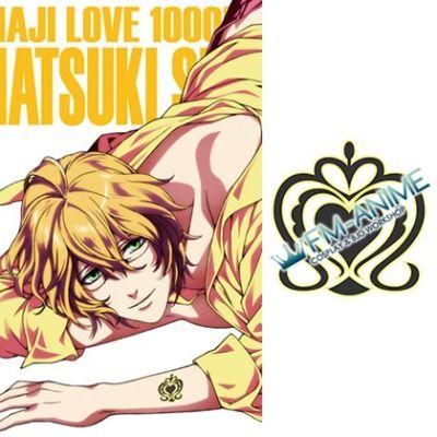 Uta no Prince-sama Natsuki Shinomiya Cosplay Tattoo Stickers