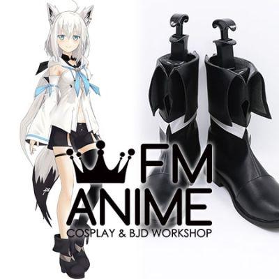 Virtual YouTuber Vtuber Hololive Shirakami Fubuki Cosplay Shoes Boots