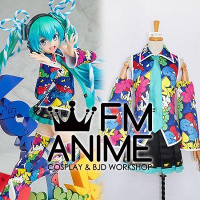 Vocaloid Hatsune Miku EXPO 5th Anniv. Lucky☆Orb: UTA X KASOKU Cosplay Costume