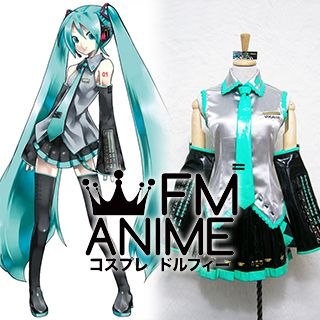 Vocaloid Hatsune Miku Format Cosplay Costume