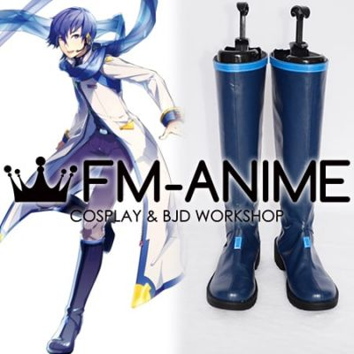 Vocaloid Kaito V3 Cosplay Shoes Boots