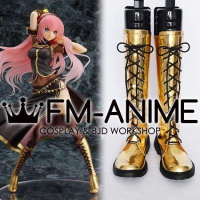 Vocaloid Megurine Luka Figure Version Cosplay Shoes Boots