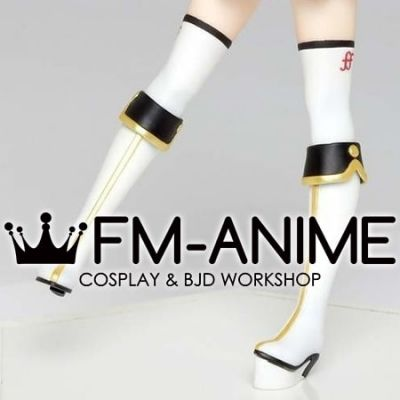 Vocaoid Kagamine Rin Winter Live 2019 Cosplay Shoes Boots