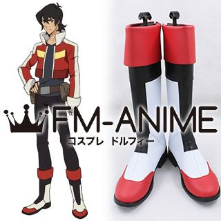 Voltron: Legendary Defender Keith Cosplay Shoes Boots