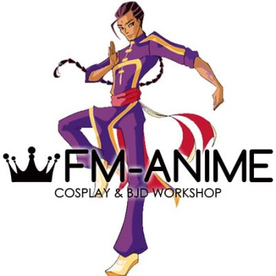 Winx Club Nabu Specialists Purple Cosplay Costume
