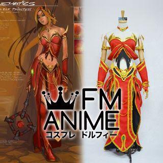[Display] World of Warcraft Blood Elf Priest Cosplay Costume