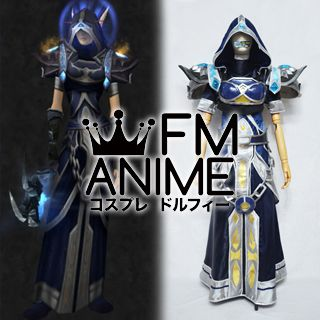 World of Warcraft Merciless Gladiator Priest Cosplay Costume