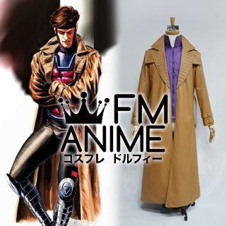X-Men (comic) Gambit Cosplay Costume