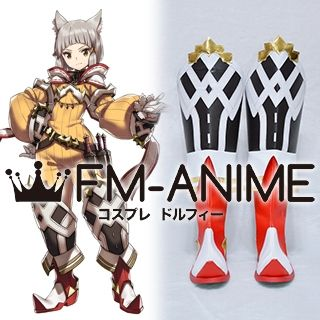 Xenoblade Chronicles 2 Nia Cosplay Shoes Boots