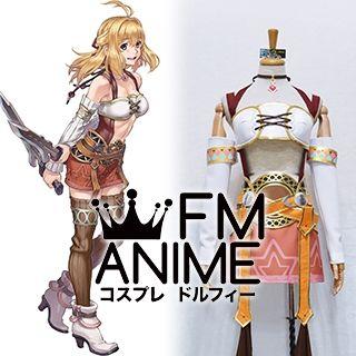 Xenoblade Chronicles 2 Fiora Cosplay Costume