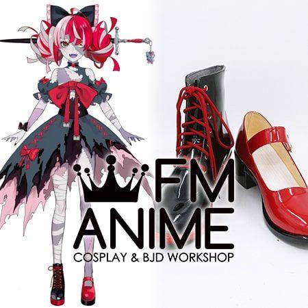 Virtual YouTuber Vtuber Hololive Kureiji Ollie Cosplay Shoes Boots