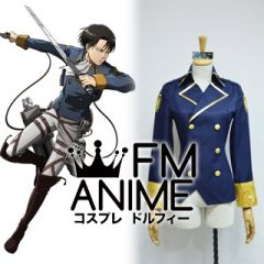 Attack on Titan: Wings of Rebellion Online Corps Coat Jacket Military Uniform Cosplay Costume