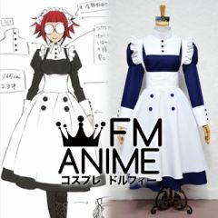 Black Butler Mey Rin Maid Cosplay Costume