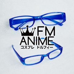Shin Megami Tensei: Persona 4 Naoto Shirogane Blue Square Frame Clear Lens Glasses Cosplay Accessories Props