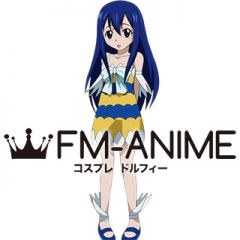 Fairy Tail Wendy Marvell Cosplay Costume