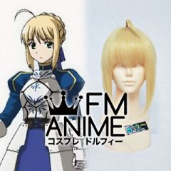 Fate/stay night Saber Cosplay Wig