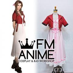 Final Fantasy VII Remake R Aerith Gainsborough Cosplay Costume Necklace
