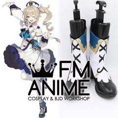 Genshin Impact Barbara Page Babala Cosplay Shoes Boots