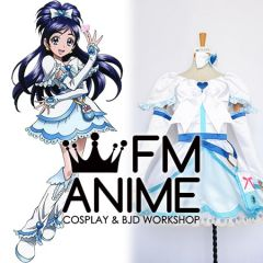 Pretty Cure Cure White Yukishiro Honoka Cosplay Costume