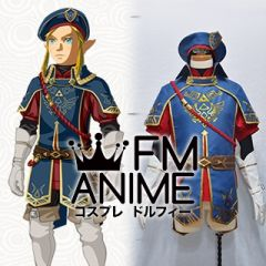 The Legend of Zelda: Breath of the Wild Link Royal Guard Uniform DLC Cosplay Costume