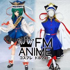 Touhou Project Shikieiki Yamaxanadu Cosplay Costume
