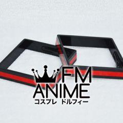 Vocaloid Hatsune Miku Black & Red Headdress Cosplay
