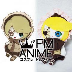 Vocaloid Kagamine Rin Senbon Sakura Plush Doll Cosplay Accessories Props