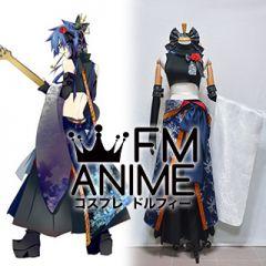 Vocaloid Kaito Fleeting Moon Flower Kimono Cosplay Costume (Version 2)